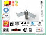 Turnstiles van de Hoogte van het identiteitskaart het Elektronische Halve Systeem van het Toegangsbeheer met het Roteren van 90 Graad