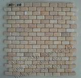 De marmeren Tegels van het Mozaïek van de Steen voor de Decoratie van de Muur