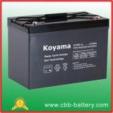 12V 90Ah gel de ciclo profundo de la batería para vehículos de recreo / RV