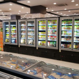 サウジアラビアのためのスーパーマーケットの空気クーラーのMultideckのスリラー