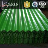 Строительные материалы гофрированным цветом установки голодают настилающ крышу лист