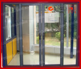 Portello scorrevole di alluminio per le case e gli uffici