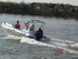 Barco inflável 2.7m-7.3m de /Rigid do barco do reforço