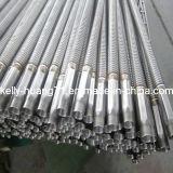 Manguito acanalado flexible de alta presión del acero inoxidable