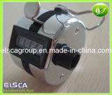 Metal Digital que pressiona o contador Chorme Clicker revestido do registro da mão (EH04)