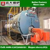 100% Dampfkessel-Produkt-Qualitätsschutzsystem, Gasöl-Feuer-Dampfkessel, zum des Dampfs festzulegen