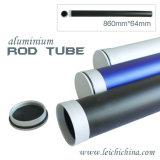 Premier tube en aluminium de Rod de pêche de mouche de pente