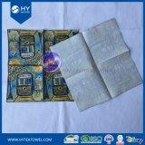 Servilleta de papel impresa diseño de encargo del partido de cena del arte