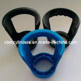 Maniglie della plastica per le piccole bottiglie di gas