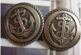 Prix usine en gros de bouton en métal de qualité avec Oeko, la BV et conformités d'Intertek