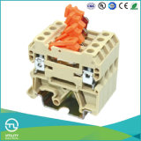 Разъем провода блокировочного рельса DIN винта UL TUV терминальный