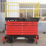 Die mobile hydraulische Luftarbeit-Plattform Scissor Aufzug (7.5m)