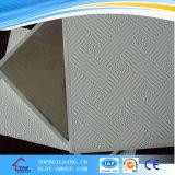 Espessura 9mm, PVC Gypsum Ceiling Tile para Ceiling