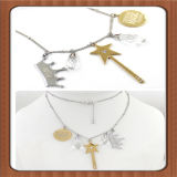 Lo Special progetta la collana di vendita calda della perla dell'oro dei monili
