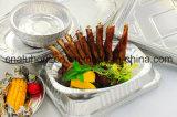 Поднос алюминиевой фольги масла свободно для приготовленного в духовке приготовленн в духовке цыпленка