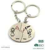 Migliori regali svegli personalizzati del biglietto di S. Valentino di Keychain delle coppie di Qualtiy