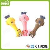 Forme animale Long Neck Squeaky Lovely Latex Dog Toys, Pet Toys