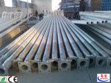 Iluminação galvanizada Q235 pólos da rua do aço do preço de fábrica