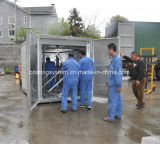 Polvere industriale elettrica che cura forno