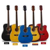 Оптовой продажи фабрики OEM гитара изготовленный на заказ цветастая акустическая