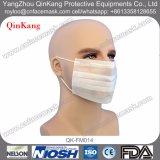 Nichtgewebte Wegwerfgesichtsmaske für chirurgisches