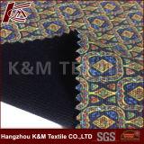 tissu 100% métallisé d'ouatine de flanelle de tissu de polyester du jacquard 50d