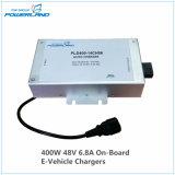 400W 48V 6.8A a bordo el cargador de batería para el vehículo eléctrico