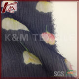 Изготовленный на заказ напечатанная цифров ткань Georgette Crinkle от поставщиков Silk тканей Ханчжоу