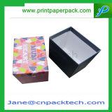 Contenitore di carta su ordinazione di scatola di cartone rigida della casella del basso e dell'alto