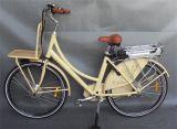 Bici elettrica di stile della città della batteria di litio del blocco per grafici 250W 36V della lega (JSL036X-3)