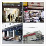 Guangzhou-Großverkauf 100% wusch Baumwollleinenblick-Kleid-Hemd-Gewebe