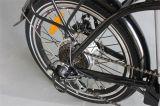 """20の""""黒いシリーズフレームのリチウム電池の折るEバイク(JSL039XB)"""