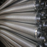 Energia hidráulica que dá forma à mangueira ondulada anular flexível do metal que dá forma à máquina