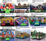 Im Freiengeräten-Ozean-Park-aufblasbarer Spielplatz für Kinder