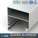 Profil en aluminium d'alliage de tissu pour rideaux de 6063 guichets avec la couleur différente