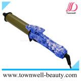 Estilo chino floral mini rizador de cerámica para viajes