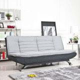 Sofá casero de madera de la sala de estar de cuero del sofá (UL-NS092)