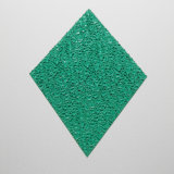 La coutume a expulsé feuille de polycarbonate gravée en relief par panneaux en plastique décoratifs de polycarbonate