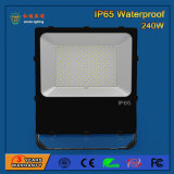 Vidro Temperado 110lm / W 240W SMD 3030 Outdoor LED Flood Light
