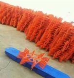 Forte ventola di plastica per l'aeratore della rotella di pala