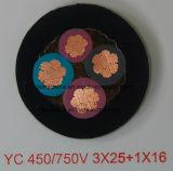Caoutchouc normal de H07rn-F et câble en caoutchouc du néoprène