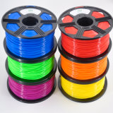 Al por mayor de 3 mm 1,75 mm 3D PLA Filamento de la impresora 3D con desecante Embalaje