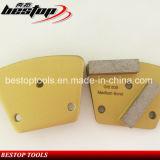 Bestop 3-Hole HTC 모양 구체적인 가는 Plate 2개의 바 세그먼트로