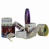 Collant auto-adhésif de haute qualité estampé d'étiquette pour le module de shampooing