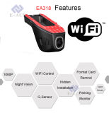 De verborgen Draagbare Videorecorders met WiFi verbinden