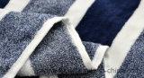 فوط قطن 100٪ الشريط غزل مصبوغ فوط الشاطئ حمام