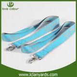 Publicidad de diseño de nylon de encargo de los acolladores del sostenedor de la identificación de la correa
