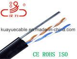 Kabel-/Computer-Kabel-Daten-Kabel-Kommunikations-Kabel-Verbinder-Audios-Kabel des Absinken-Drahtseil-2*0.5cu+1.3steel