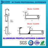 Perfil de alumínio personalizado do gabinete de cozinha perfil de alumínio