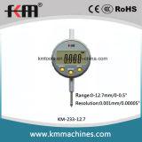 """0-12.7mm/0-0.5 """"解像度0.001mm/0.00005のデジタルミクロンのダイヤルの表示器"""""""